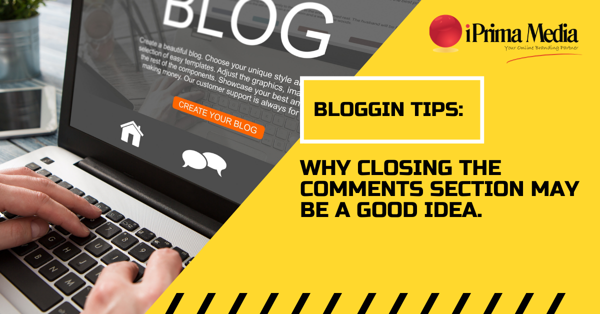 Why Closing the Comments Section may be a Good Idea! (Blogging Tips)