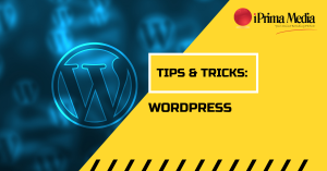 Tips and Tricks With WordPress