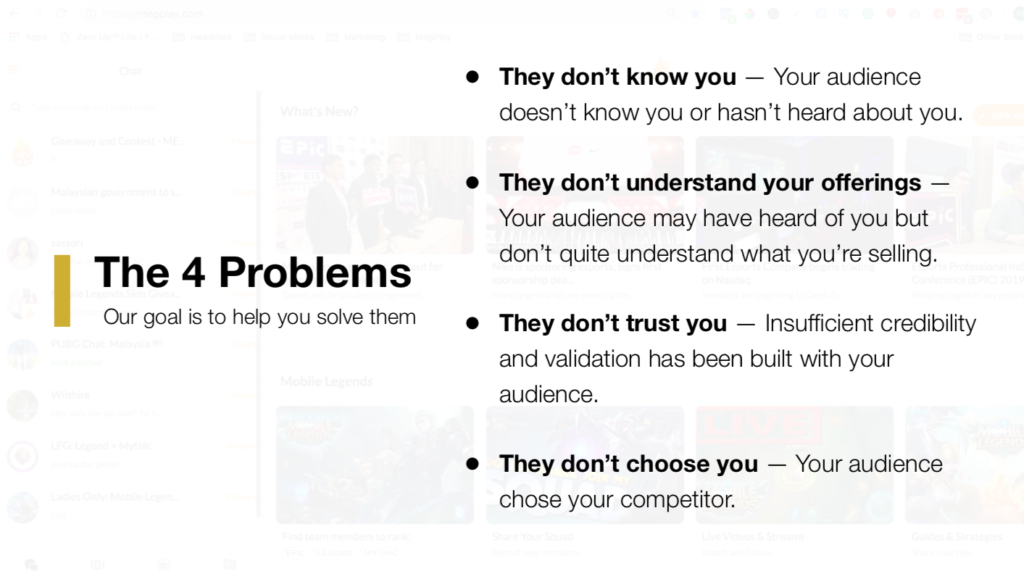 your business failed to grow because of these problems