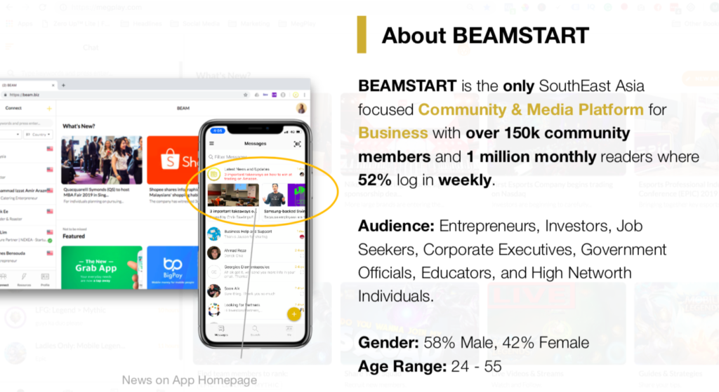 about beam - business advertising