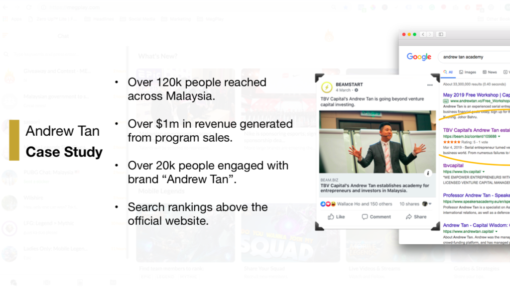 case study andrew tan with iprima media on beam
