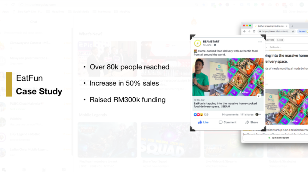 case study: 50% sales increase with iprima media marketing and beam marketing